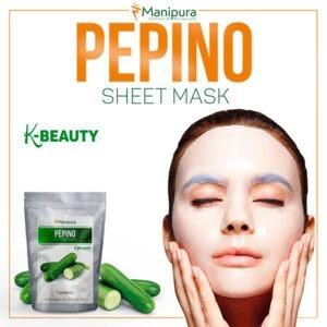 sheet mask pepino