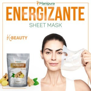 Sheet mask energizante
