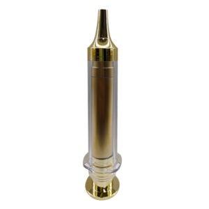 frasco syringe dourado